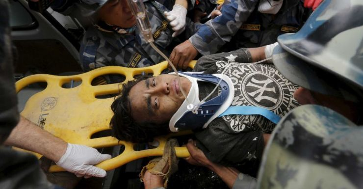 Teen rescued from collapsed hotel in Nepal