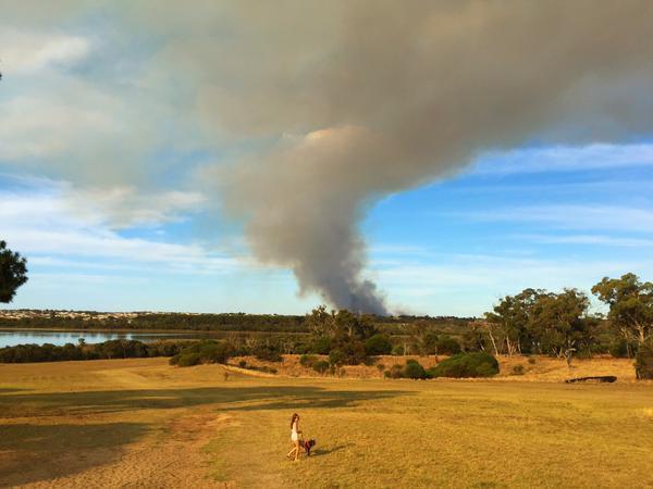 bushfire perth Twitter