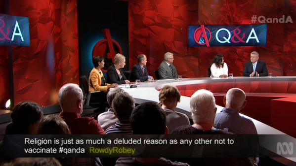 The panel spoke about shutting down remote Australian communities.