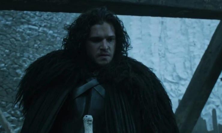 Jon Snow finally fights back.