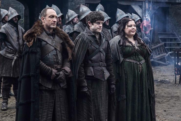 Game-of-Thrones-Season-5-Roose-Bolton-Ramsay-Bolton-and-Walda-Frey