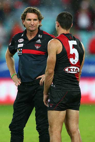 Essendon went the distance with ASADA, but couldn't with the Swans.