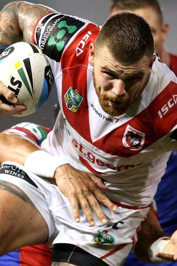 Josh Dugan has been rewarded with his first Kangaroos call up. Photo: Getty