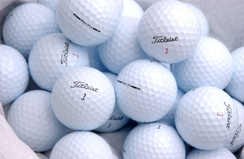 Even golf balls have issues with counterfeiters.