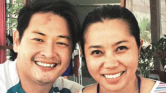 Andrew Chan has married his fiancee Feby Herewila