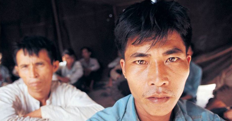 Viet Cong prisoners photographed by Tim Page.