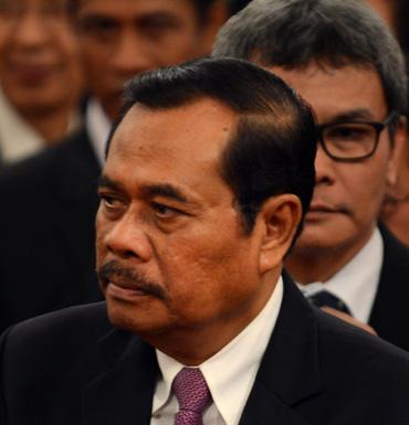 Indonesia's Attorney-General Muhammad Prasetyo.