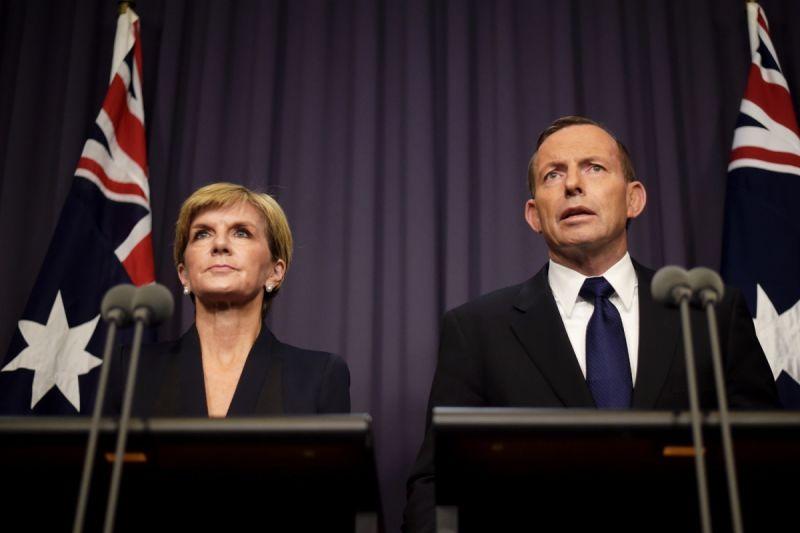 Julie Bishop Tony Abbott Bali Nine