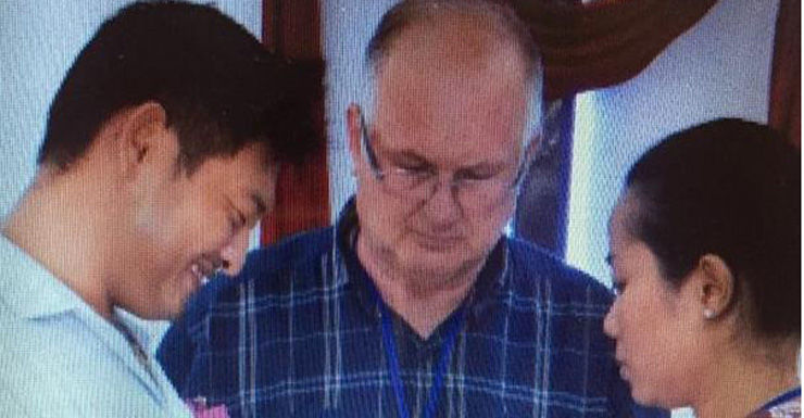 Bali Nine member Andrew Chan marrying fiancé Febyanti Herewila, with Salvation Army minister David Soper