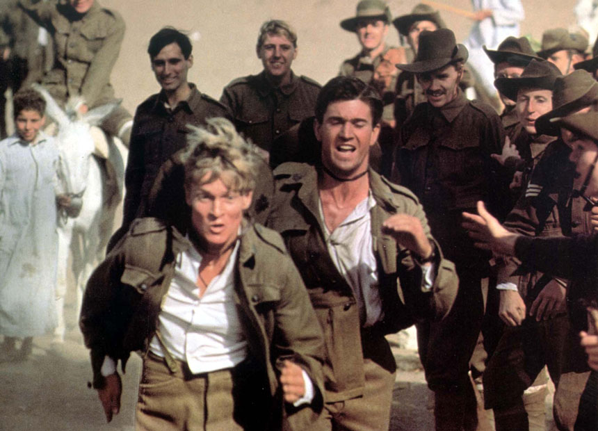 Gallipoli' star: 'Mel and I are in different worlds' | The New Daily