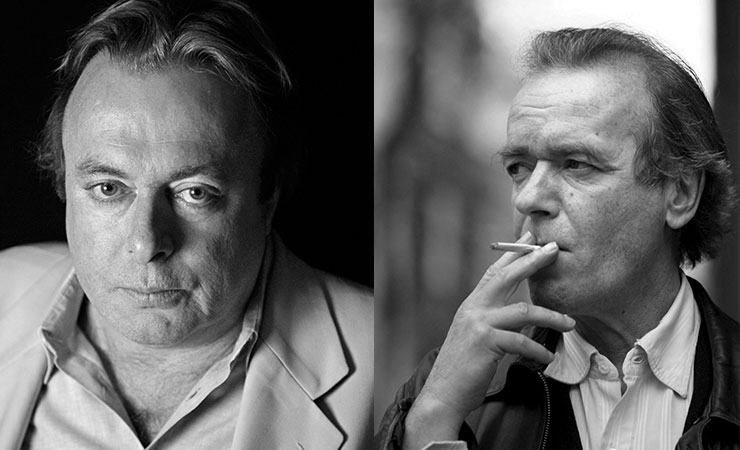 Christopher Hitchens and Martin Amis.