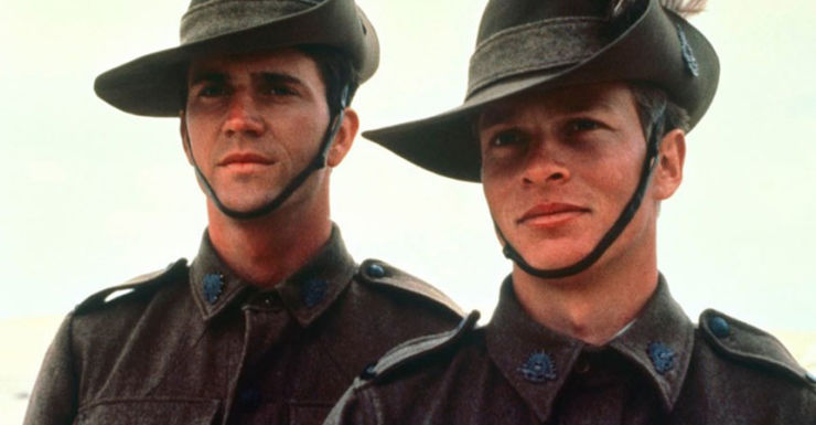 Image result for mel gibson and mark lee in gallipoli