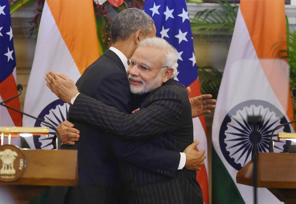 Narendra Modi Barack Obama