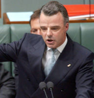 Former Education Minister Brendan Nelson was criticised for gagging academics.