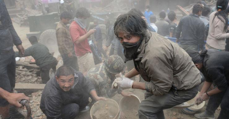 Getty Nepal earthquake