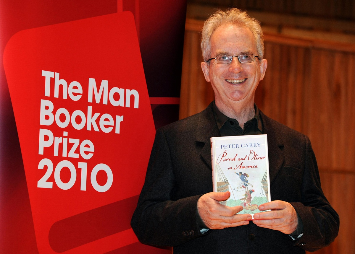 author Peter Carey