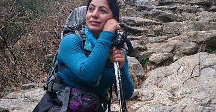 Victorian woman Renu Fotedar. nepal earthquake