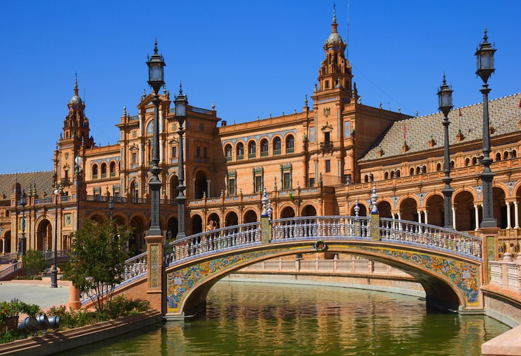 The stunning city of Seville houses history and tapas bars. Photo: Shutterstock