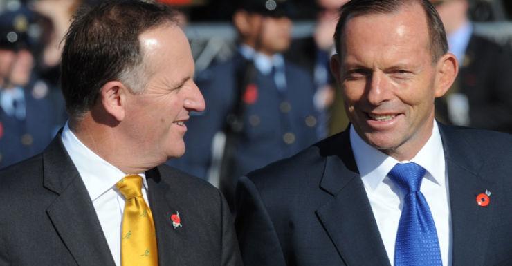 Tony Abbott John Key
