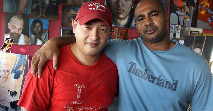 Andrew Chan and Myuran Sukumaran were executed by firing squad.