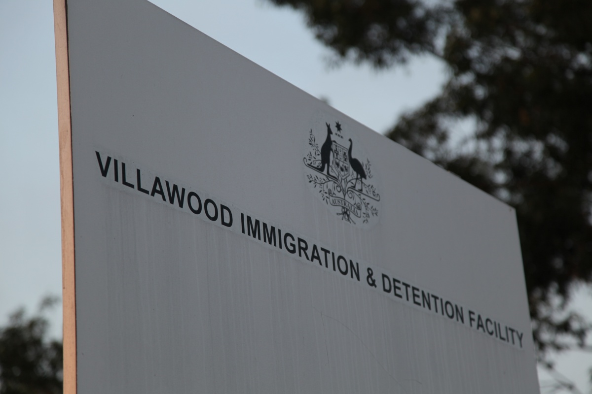 A raid was carried out at Villawood Detention Centre.