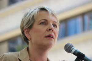 Ms Plibersek spoke around questions about her plan to force a mandatory vote.