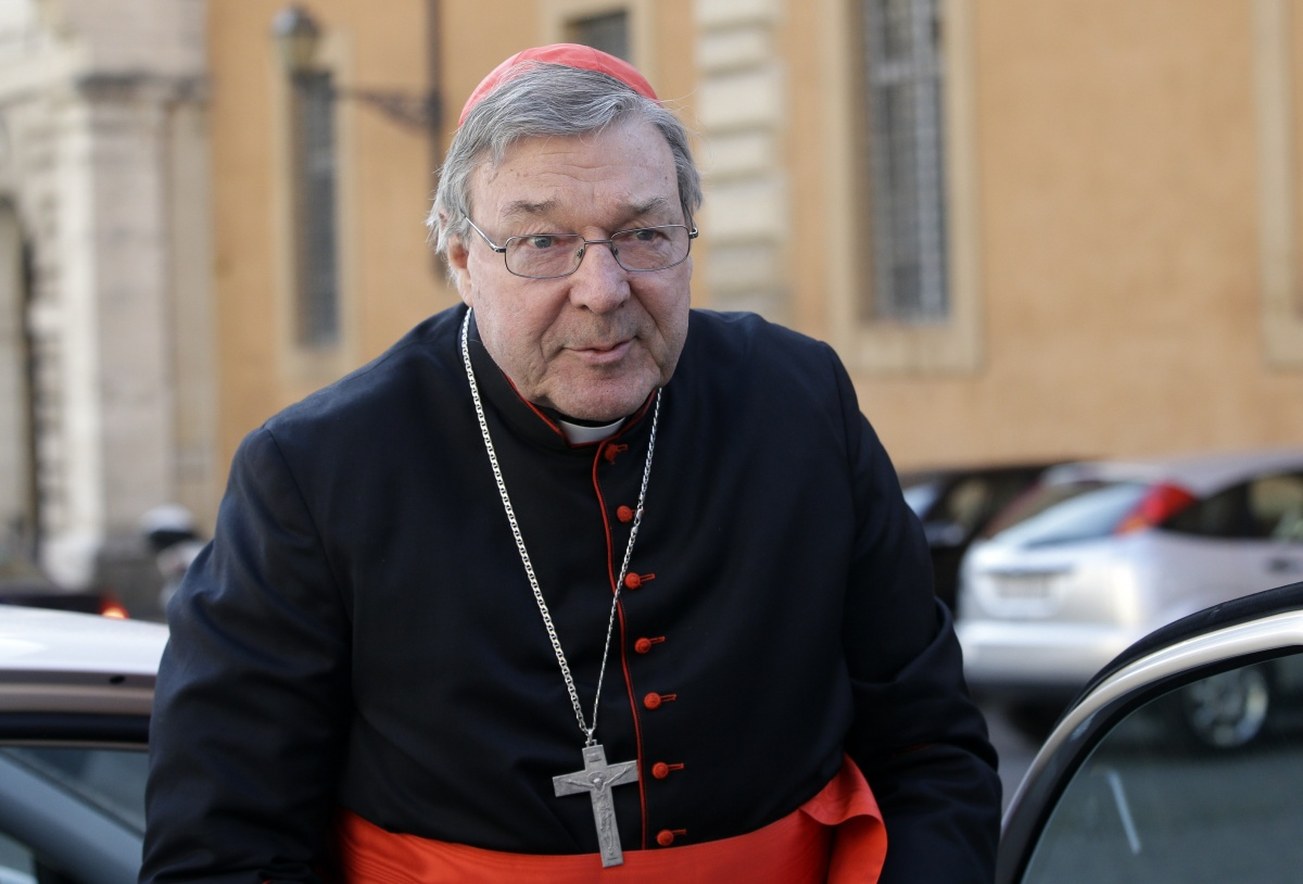 Cardinal George Pell is expected to make a statement.