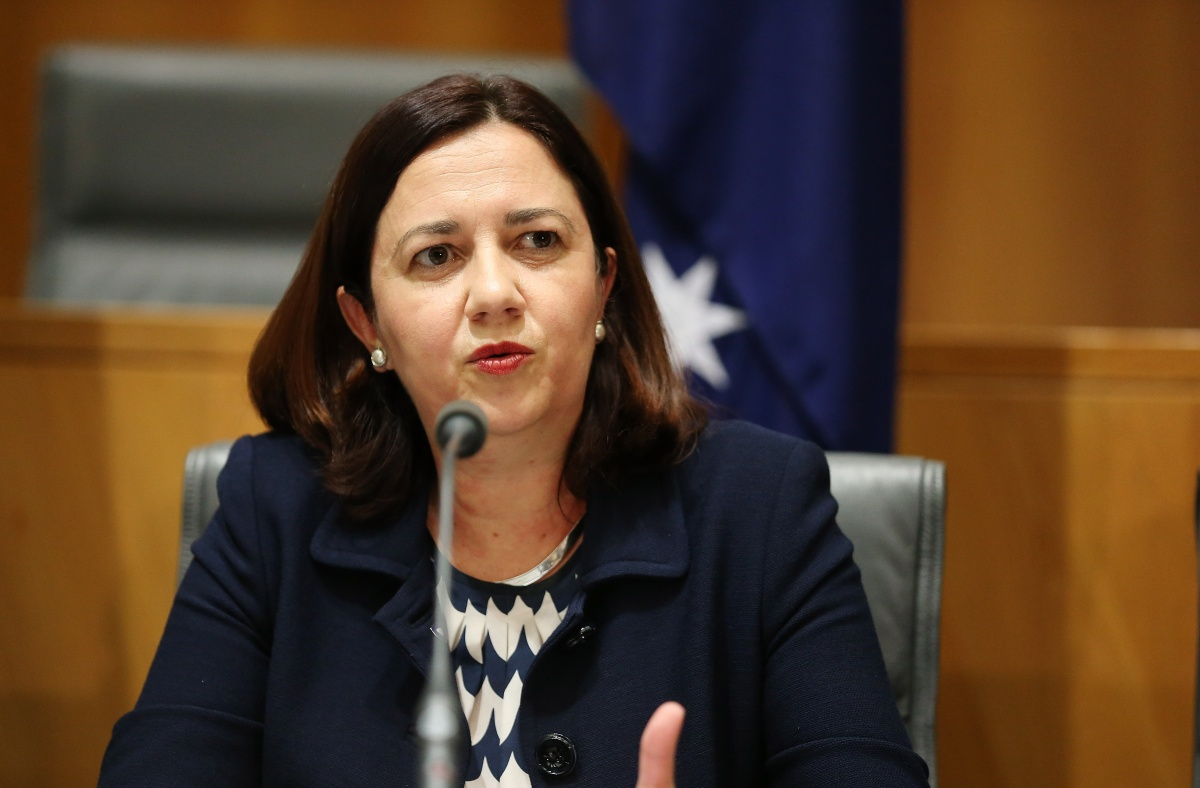 Ms Palaszczuk's personal appeal hasn't been impacted by the infighting.