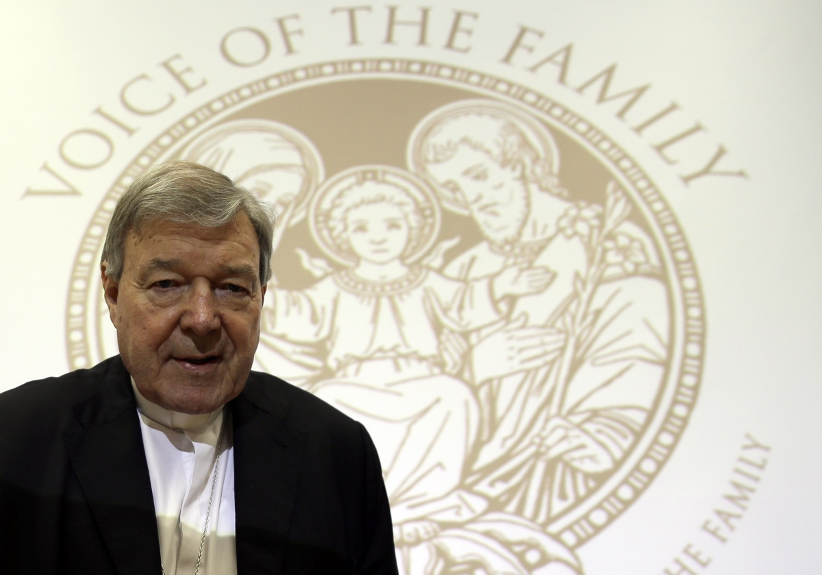 Cardinal Pell denies he tried to bribe nephew of a paedophile priest.