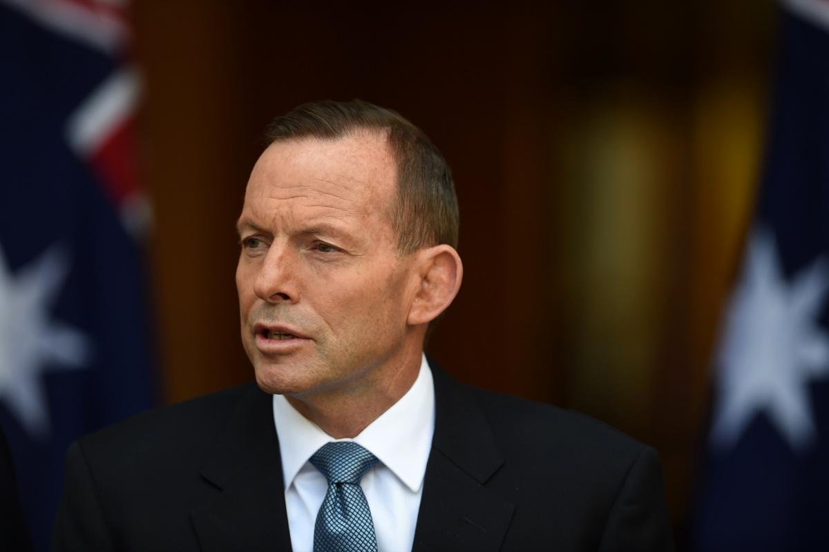 Mr Abbott is keeping quiet about Australia's troop commitment.