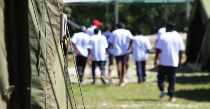 Refugees detained on Nauru have been offered a deal to resettle in Cambodia.