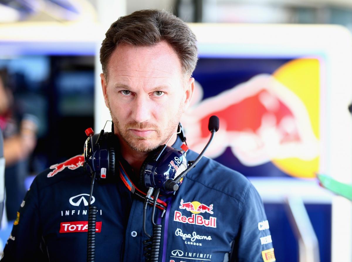 Infiniti Red Bull Racing Team Principal Christian Horner.