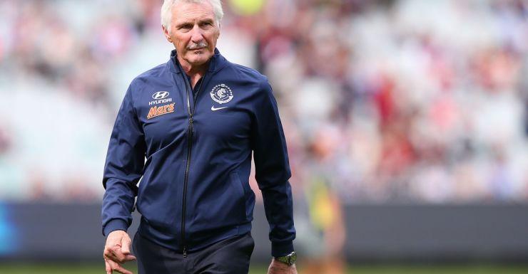 Malthouse will continue to coach the Carlton football club for the season.
