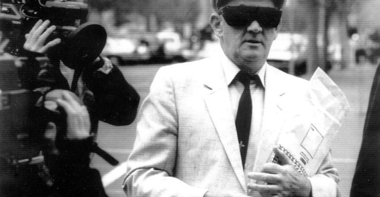 """""""Prolific offender"""" ... Paedophile priest Gerald Ridsdale's history of offending was outlined in the inquiry."""