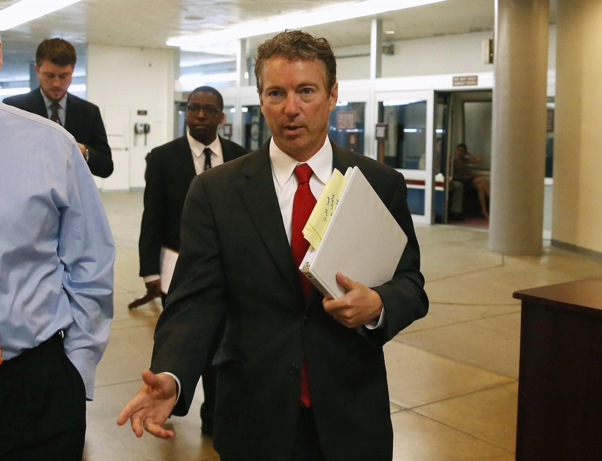 US Senator Rand Paul brought the US Senate to a standstill.