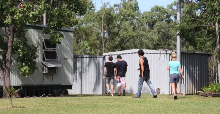 Patients being treated for ice addiction at a Darwin rehab centre.