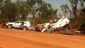 CareFlight is regularly called to accidents on remote NT roads.