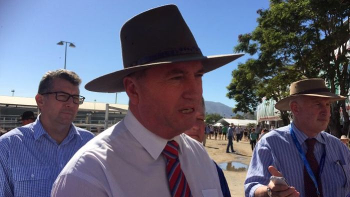 Agriculture Minister Barnaby Joyce said a total of $400 million has been allocated to drought support in the Federal Budget.