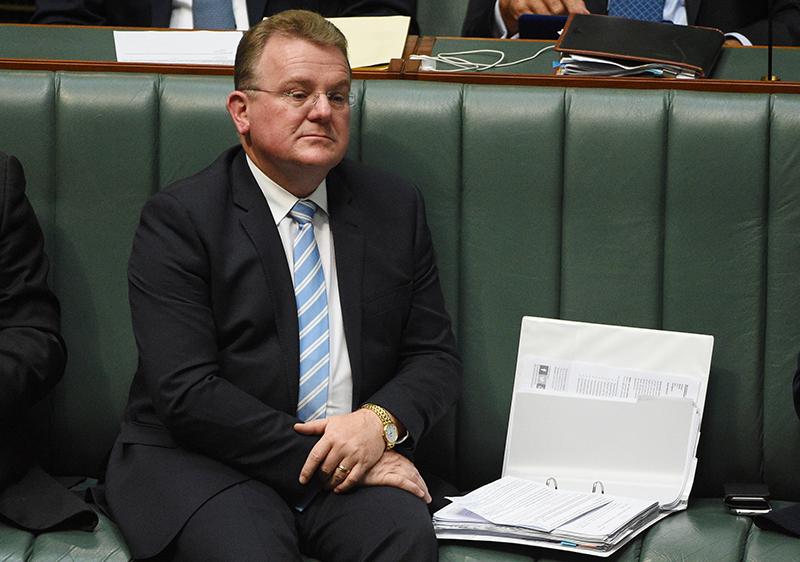 Minister for Small Business Bruce Billson. AAP