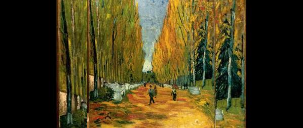 Van Gogh's Les Alyscamps
