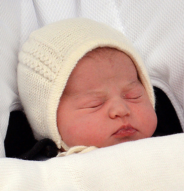 Princess Charlotte is fourth in line to the throne.