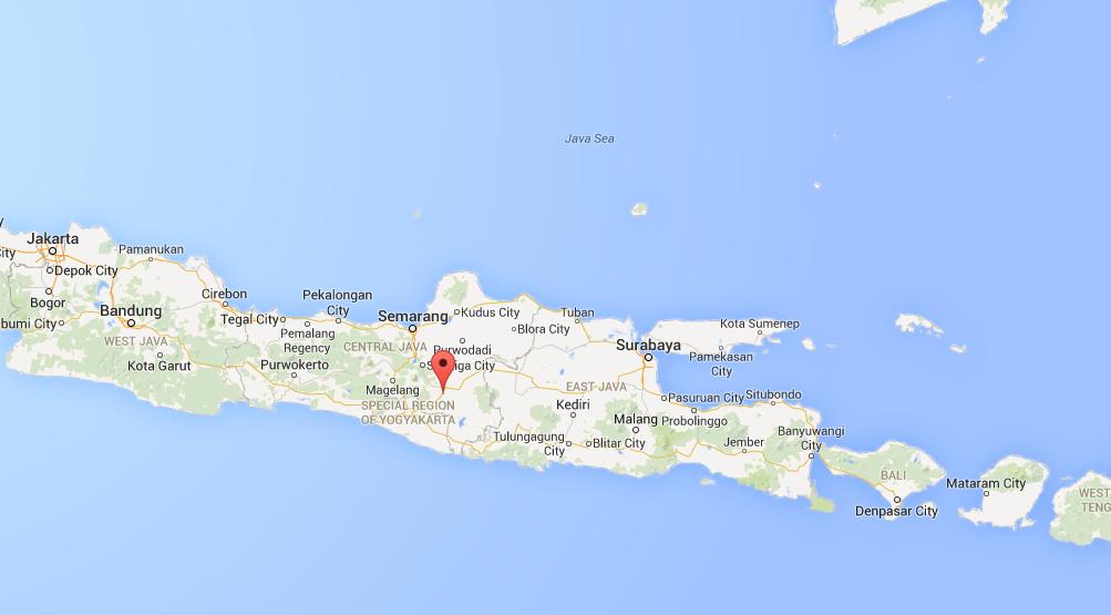 A landslide has hit the island of Java.