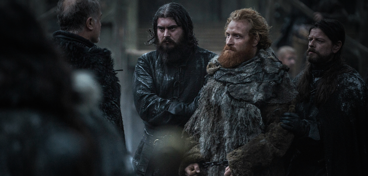 Tormund is Jon's new ally.