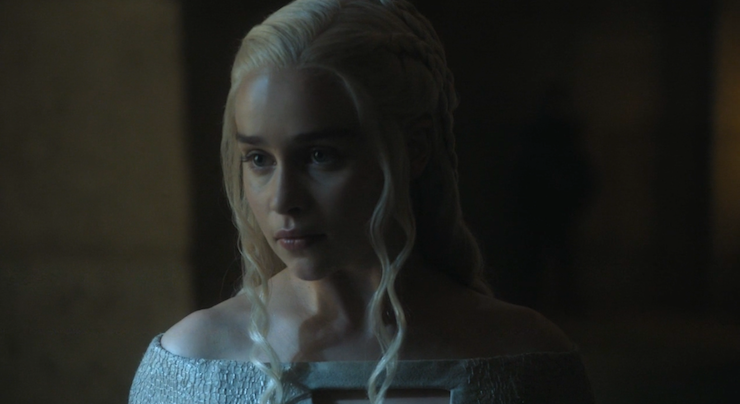 Daenerys is confused and alone without her trusted advisors.