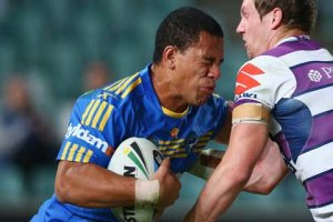 NSW winger Will Hopoate has struggled for Parramatta this season. Photo: Getty