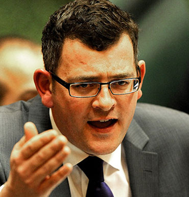 Victorian Opposition leader Daniel Andrews seeks to legalise cannabis.