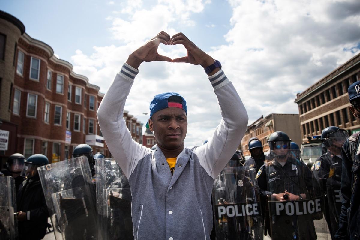 Getty Baltimore Riot