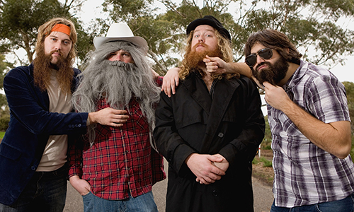 World Beard & Moustache Competitors Attend Media Call In Adelaide
