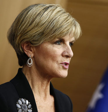 Ms Bishop said the job would oversee the work of Australia's law enforcement and intelligence agencies.