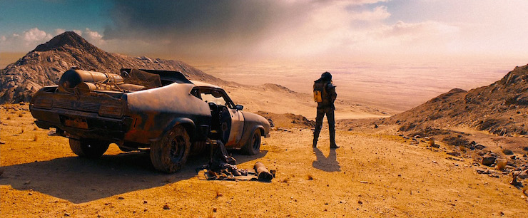 Mad Max is a lone traveller fighting for survival in a hostile world.